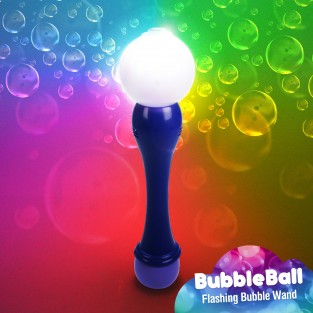 Light Up Bubble Ball Wand