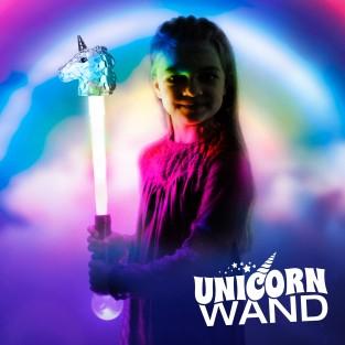 Large Light Up Unicorn Wand