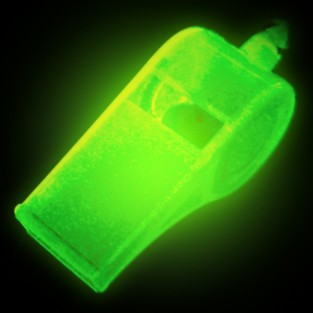 Glow In The Dark Whistles