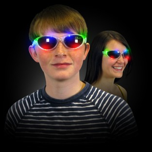 Flashing Sunglasses Wholesale