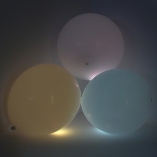 Magic-Glo Balloons White Colour Change (3 Pack)