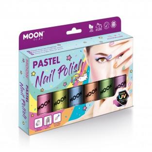 Pastel Neon UV Nail Polish Box Set