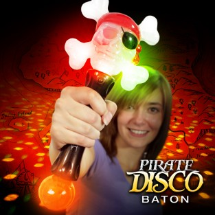 Light Up Pirate Baton