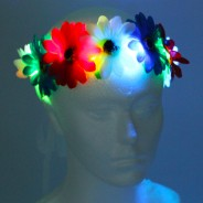 Flower Halo Wholesale 4 red, white and blue halo