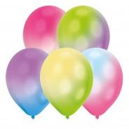 LED Latex Colour Change Balloons x 5 1
