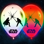 Star Wars LED Balloons (5 pack) 1