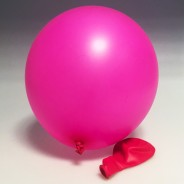 Neon Balloons 7 Pink