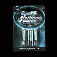 Batteries AAA (4 pack) 1