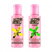 Crazy Colour Semi Permanent UV Hair Cream 1