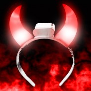 Light Up Devil Horns 2