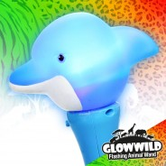 "Dolphin Mini Flashing Animal Wand 7"" Wholesale 5"