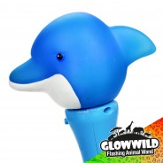 "Dolphin Mini Flashing Animal Wand 7"" Wholesale 9"