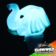 "Elephant Mini Light Up Animal Wand 7"" 7"