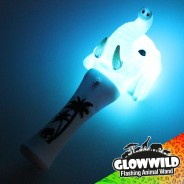 "Elephant Mini Light Up Animal Wand 7"" 5"
