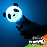 """Panda Mini Flashing Animal Wand 7"""" Wholesale 2"""
