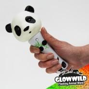 """Panda Mini Flashing Animal Wand 7"""" Wholesale 12"""