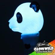 """Panda Mini Flashing Animal Wand 7"""" Wholesale 7"""