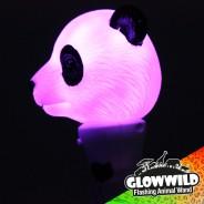 """Panda Mini Flashing Animal Wand 7"""" Wholesale 5"""