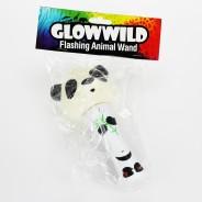 """Panda Mini Flashing Animal Wand 7"""" Wholesale 13"""