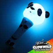 """Panda Mini Flashing Animal Wand 7"""" Wholesale 4"""