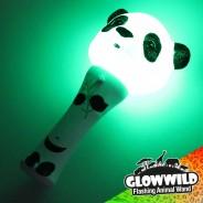 """Panda Mini Flashing Animal Wand 7"""" Wholesale 6"""
