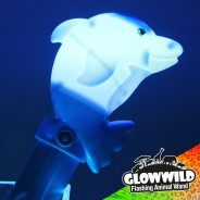 "Dolphin Mega Flashing Animal Wand 11"" Wholesale 3"