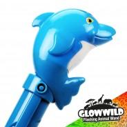 "Dolphin Mega Light Up Animal Wand 11"" 9"