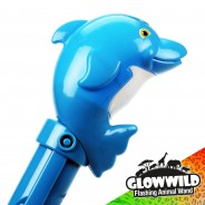 "Dolphin Mega Flashing Animal Wand 11"" Wholesale 10"