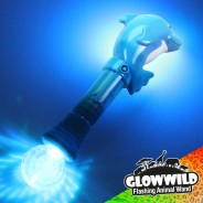 "Dolphin Mega Flashing Animal Wand 11"" Wholesale 4"
