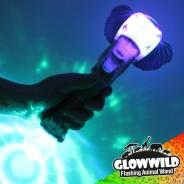 """Elephant Mega Flashing Animal Wand 11"""" 4"""
