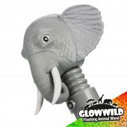 """Elephant Mega Flashing Animal Wand 11"""" Wholesale 12"""