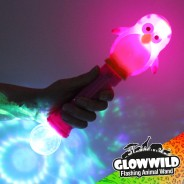"Penguin Mega Light Up Animal Wand 11"" 1"
