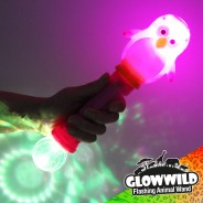 "Penguin Mega Light Up Animal Wand 11"" 5"