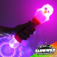 "Penguin Mega Light Up Animal Wand 11"" 4"