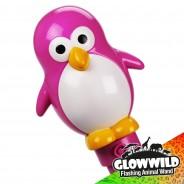 """Penguin Mega Flashing Animal Wand 11"""" Wholesale 9"""