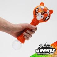 "Tiger Mega Light Up Animal Wand 11"" 10"