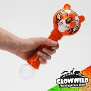 "Tiger Mega Flashing Animal Wand 11"" Wholesale 8"