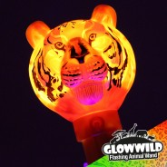 "Tiger Mega Flashing Animal Wand 11"" Wholesale 4"