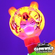 "Tiger Mega Flashing Animal Wand 11"" Wholesale 2"