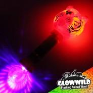 "Tiger Mega Light Up Animal Wand 11"" 7"