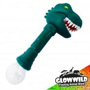"""T-Rex Mega Light Up Animal Wand 11"""" 3"""
