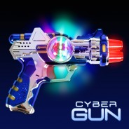 Light Up Cyber Gun 1