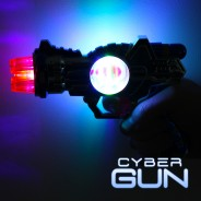 Light Up Cyber Gun 2
