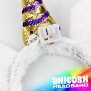 Light Up Unicorn Headband 6