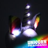 Flashing Unicorn Headband Wholesale 3