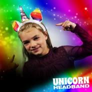 Light Up Unicorn Headband 1