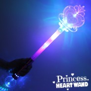 Large Light Up Princess Heart Wand Wholesale 3
