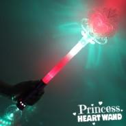 Large Light Up Princess Heart Wand Wholesale 6