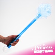 Large Light Up Princess Wand 13 Blue