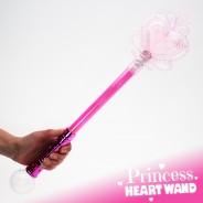 Large Light Up Princess Wand 12 Pink